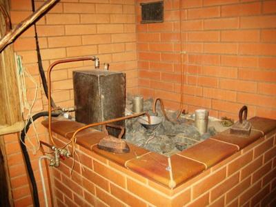 Аква-печь для бани