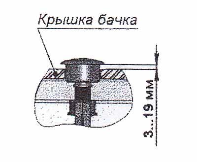 Ustanovka kryshki bachka i knopochnogo uzla (2)