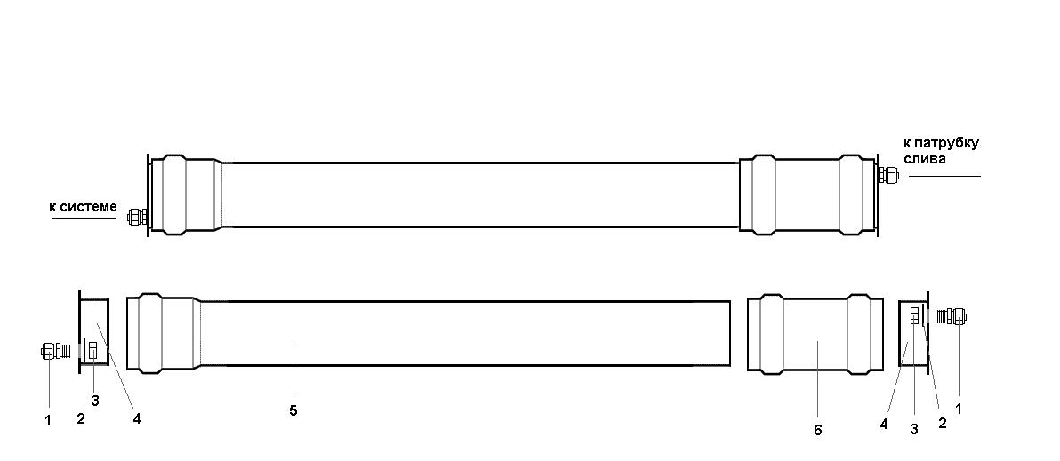 Схема сборки сливного бачка