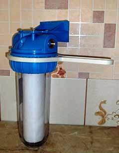Фильтр механической очистки воды в сборе
