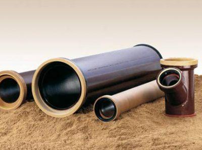 Керамическая труба канализационная