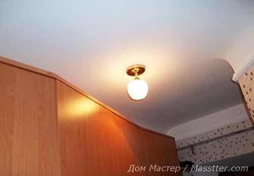 Сборка и монтаж потолочного светильника своими руками (19)