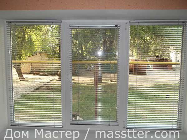 Установка жалюзи на окнах (9)