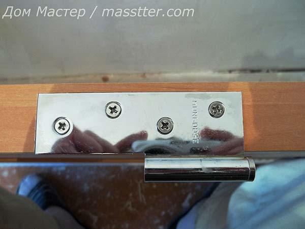 Точная врезка дверных петель (10)