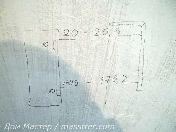 Точная врезка дверных петель (11)
