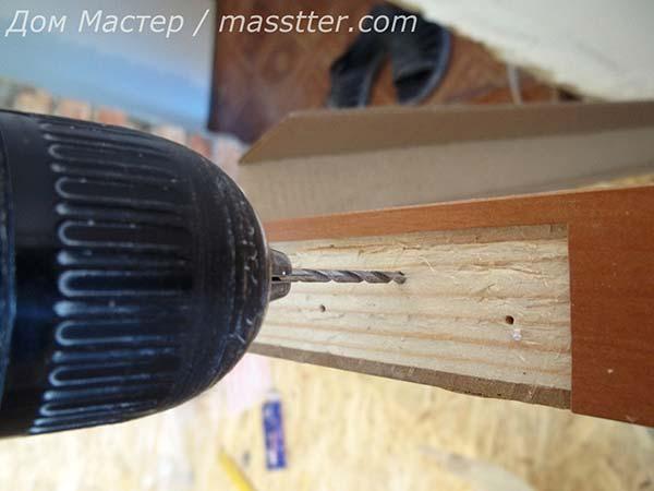 Как установить петли на межкомнатную дверь