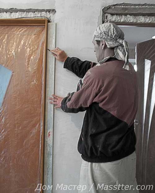 Установка дверных доборов МДФ на межкомнатные двери