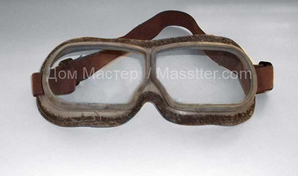 Работаем только в защитных очках