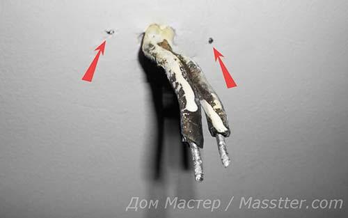 Сборка и монтаж потолочного светильника своими руками (15)