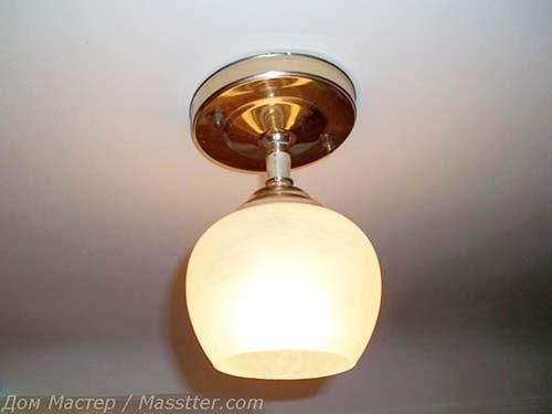 Сборка и монтаж потолочного светильника своими руками (18)