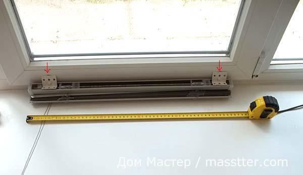 Установка жалюзи на окнах