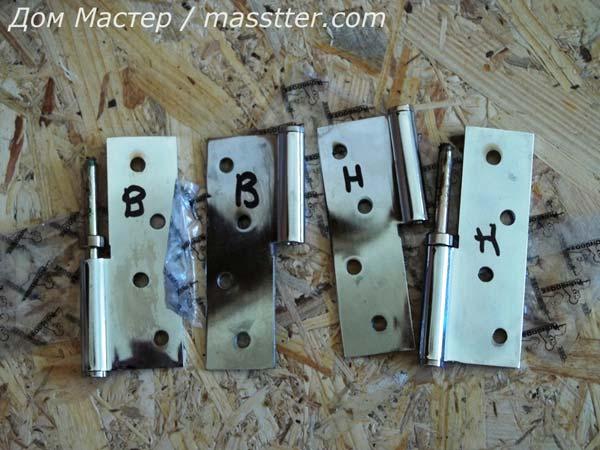 Точная врезка дверных петель (1)