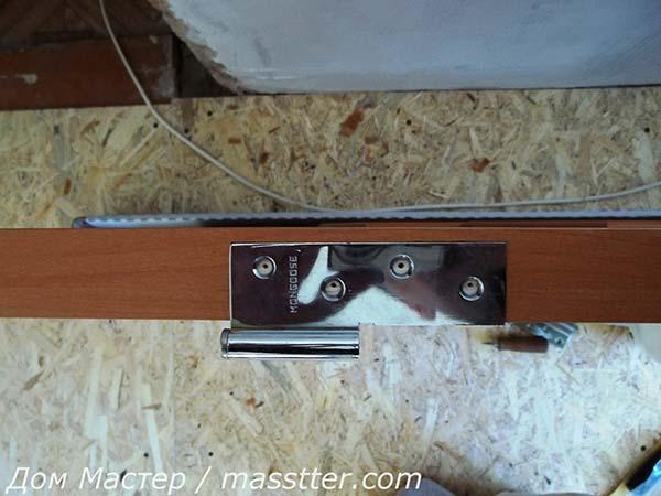 Точная врезка дверных петель (8)